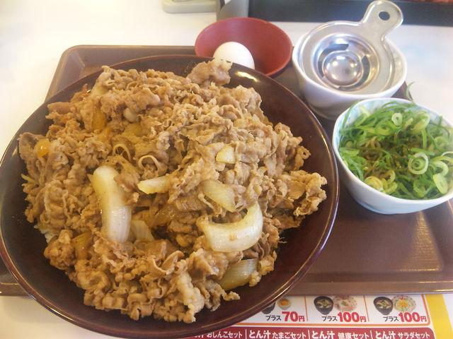 すき家 キング牛丼