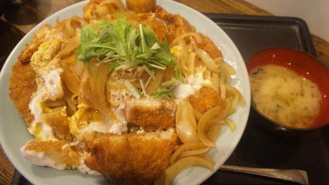 はりま屋 ジャンボカツ丼