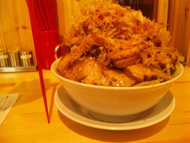 麺マッチョ チャーシュー1本のせ