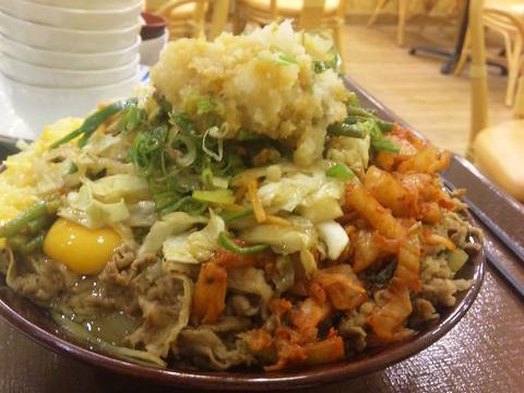 キング牛丼 ビビンバ
