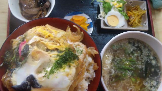 原泉 カツ丼