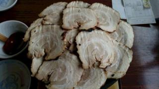 ラーメン 火山 焼豚麺