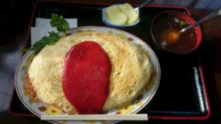 七福食堂 オムライス