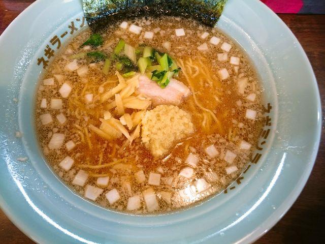 ラーメンショップ椿 生姜ラーメン
