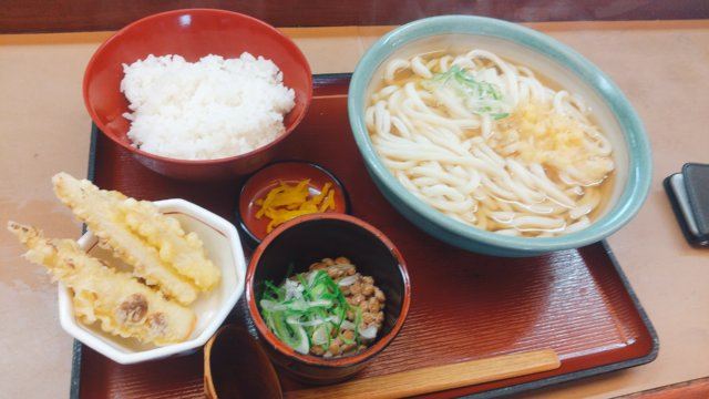吉本製麺 嵐 モーニング