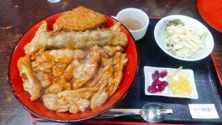 キング鶏味噌丼